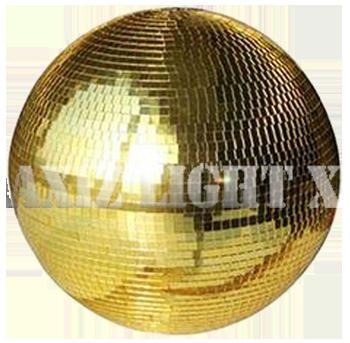 大型ミラーボール&ゴールドミラーボール