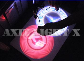 カーロゴライトRX-GBK・LED3W400lmロゴライト/車用ロゴライト/プロフェッショナルロゴライトシリーズ【ロゴライト・LEDロゴライト】