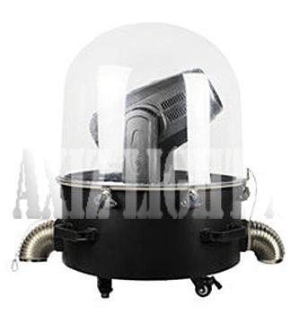 ムービングライト&サーチライト専用カバー/カプセル型ドーム型仕様/デザイン1の詳細はクリック願います!【AXIZLight専用ムービングライト&サーチライト照明レインカバー仕様】