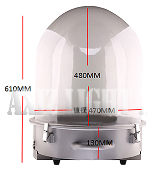 ムービングライト&サーチライト専用カバー/カプセル型ドーム型仕様/デザイン3の詳細はクリック願います!【AXIZLight専用仕様】
