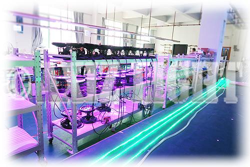 AXIZLight提携照明工場風景1