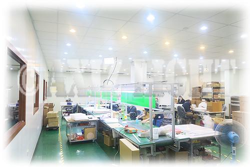 AXIZLight提携照明工場風景6